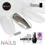Mirror Effect Nail Liquid The Garden of Colour - efekt lustra chromu 15ml