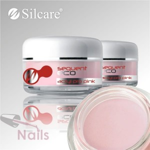 Akryl Silcare Sequent ECO Pro Pink Różowy 12g