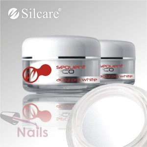 Akryl Silcare Sequent ECO Pro White Biały 12g