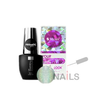 Prismatic Effect Nail Liquid The Garden of Colour - efekt hologramu, holo syrenki 15ml